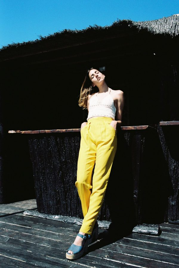 YSL-yellow-pants